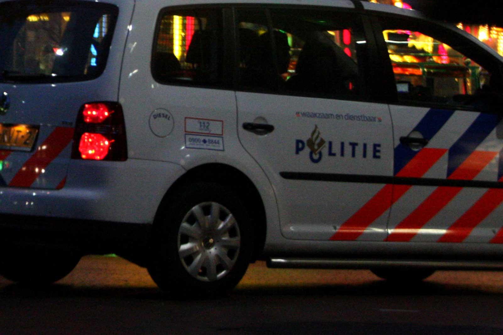 politieauto-avond
