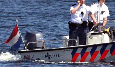 Foto van politieboot op water | Archief EHF