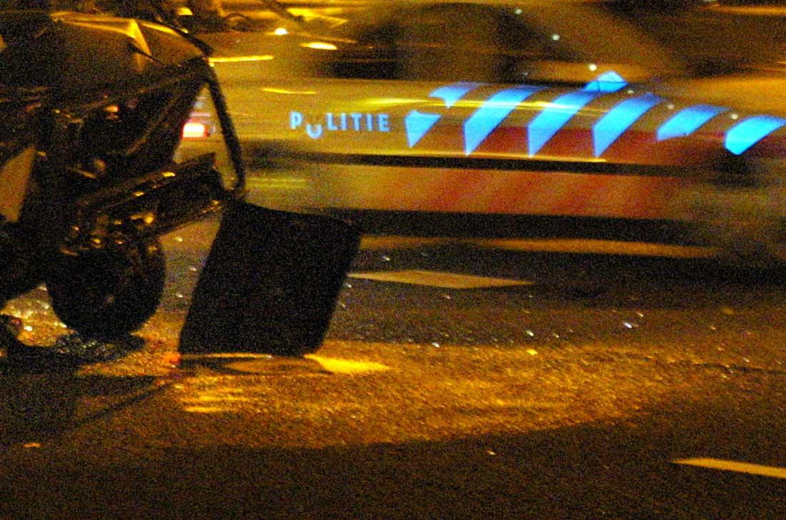politieauto-snelweg-ongeval