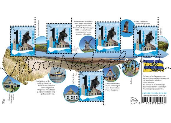 Afbeelding van postzegel Ameland