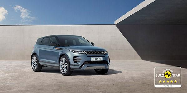 Nieuwe Range Rover Evoque veiligste Land Rover ooit