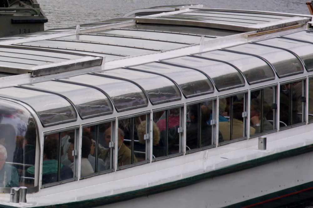 Foto van rondvaartboot   Archief EHF