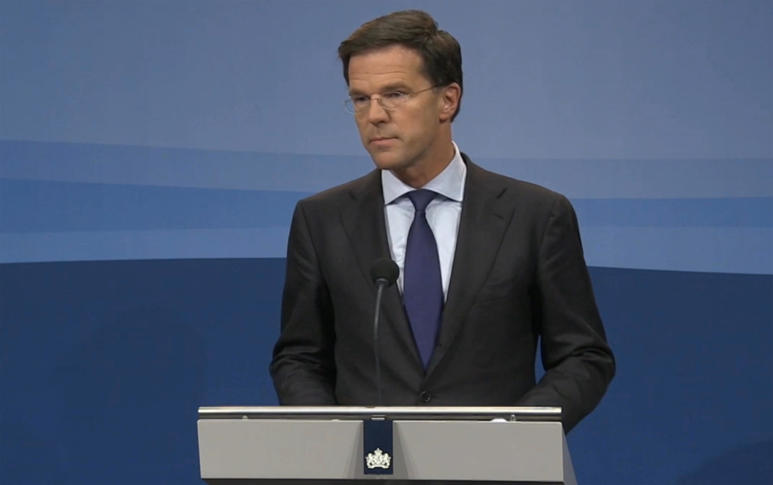 Rutte: 'Nederland heeft maatregelen genomen'
