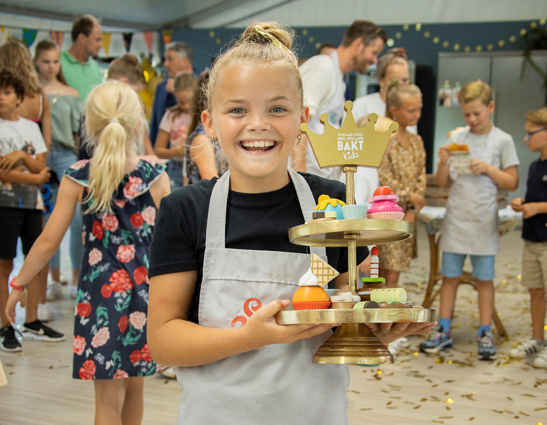 Saar wint heel Holland bakt kids