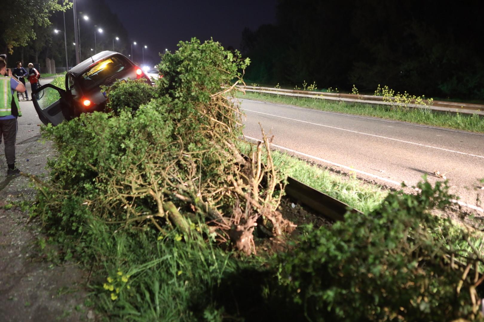 Foto van ongeval met auto