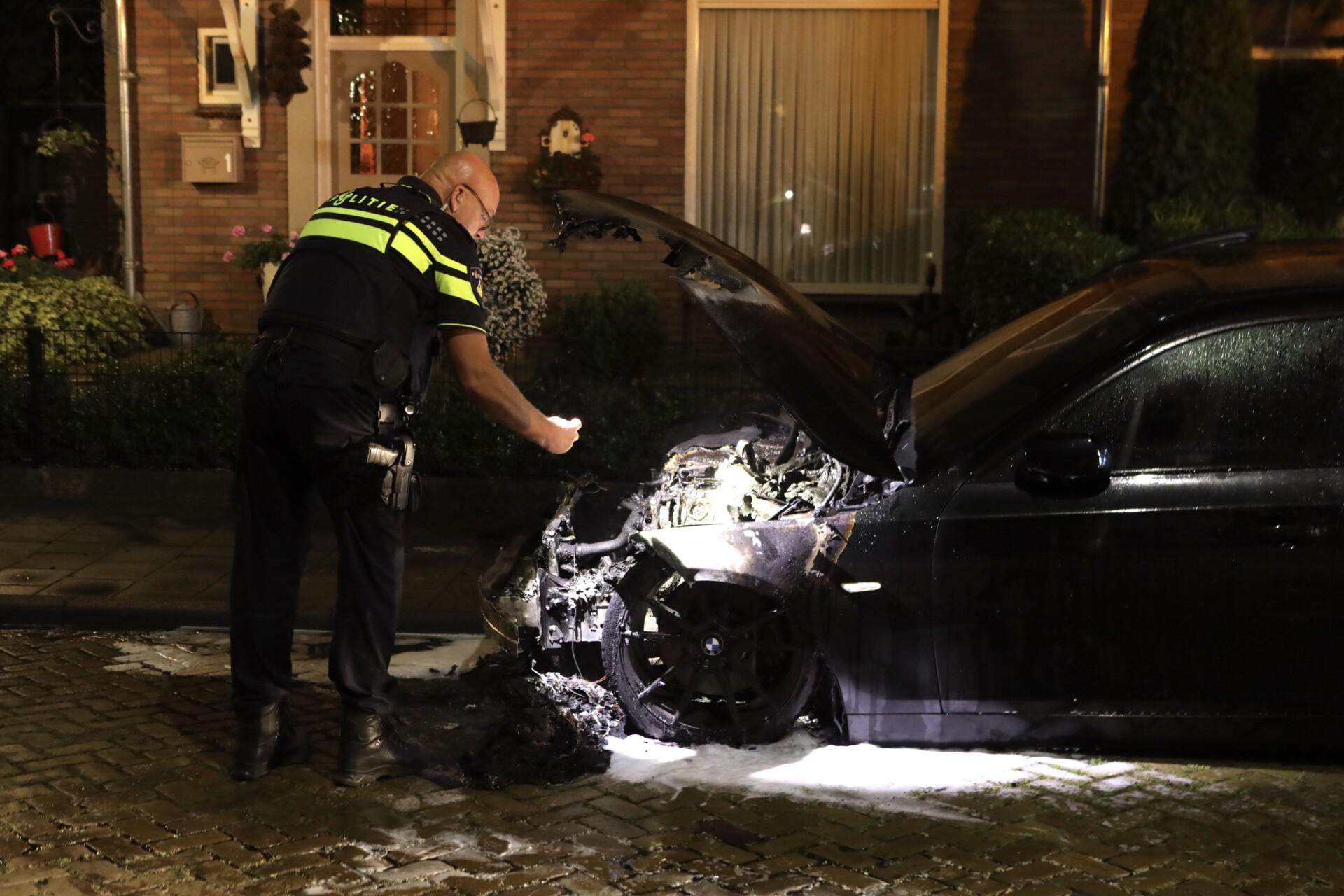Politie onderzoekt auto