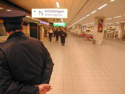 Foto van marechaussee   Archief EHF