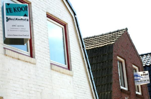 Foto van huizen die te koop staan | MV Blik op Nieuws