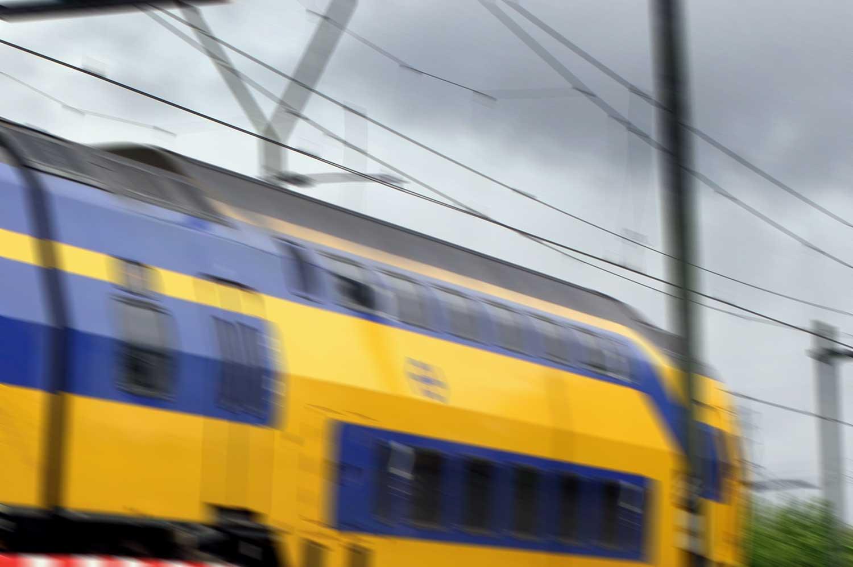 trein-rijdend