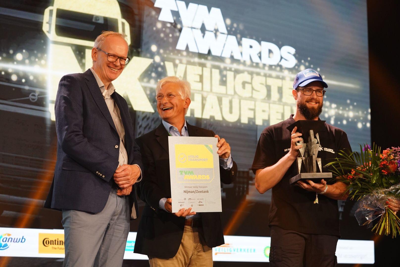 René de Baat winnaar NK Veiligste Chauffeur van Nederland