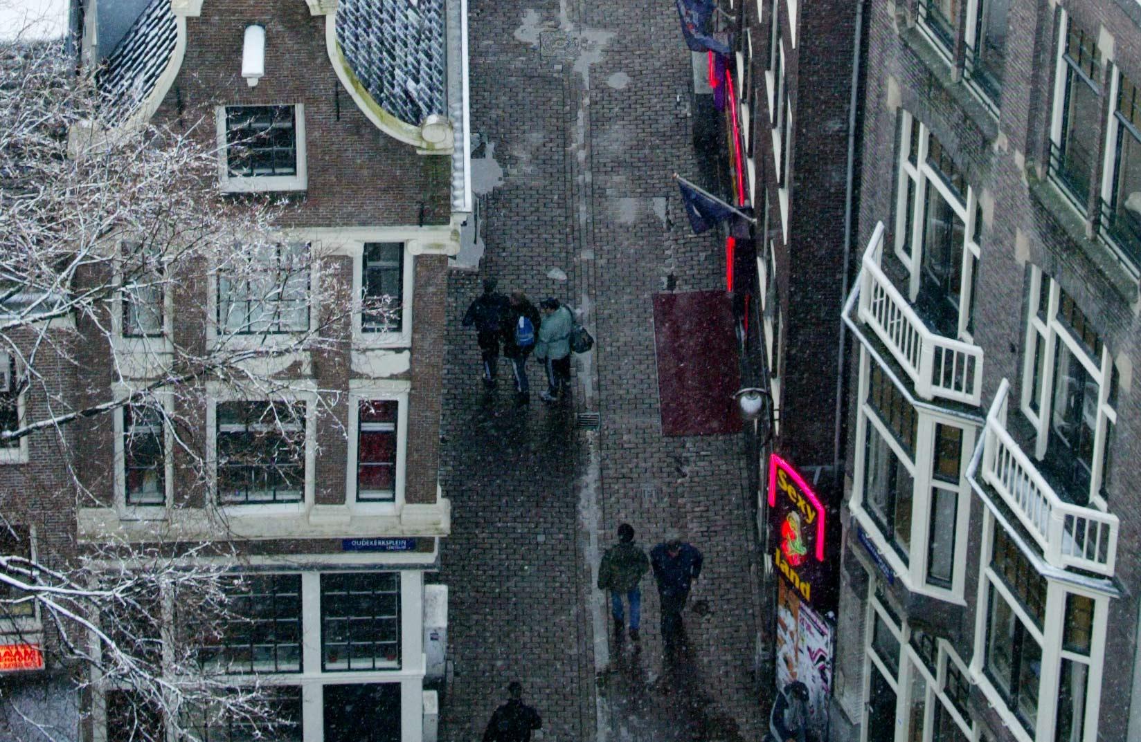 Rondleidingen langs prostitutieramen op de Wallen verboden