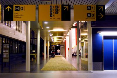 Foto van hal ziekenhuis | Archief EHF