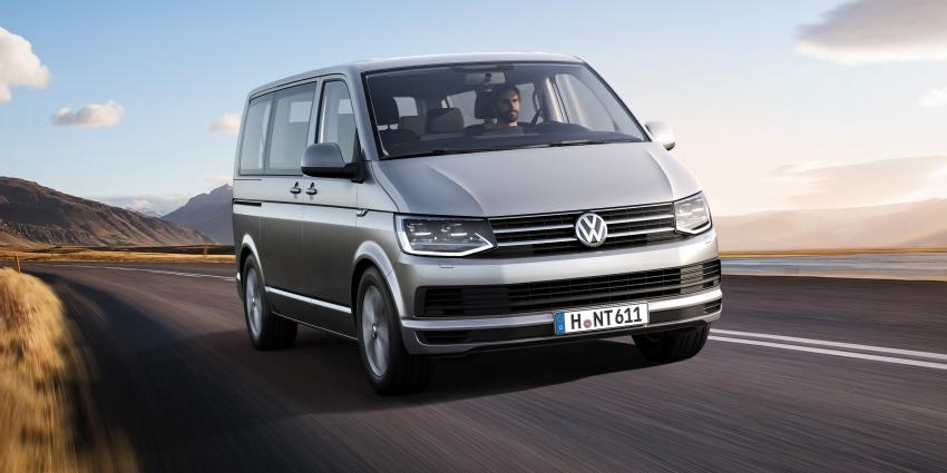 Nederlandse wereldprimeur voor 6e generatie Volkswagen Transporter