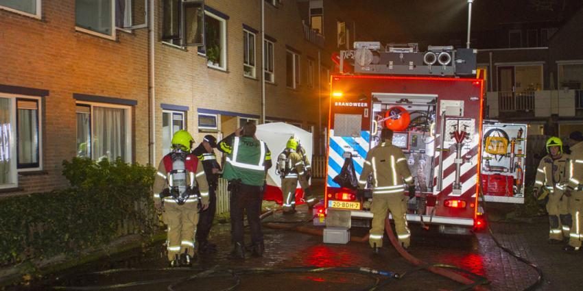Dode in woning aangetroffen na brand