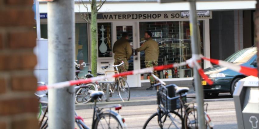Handgranaat aangetroffen op winkel in Amsterdam
