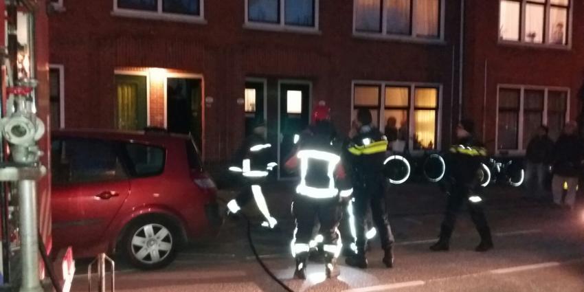 Zwaargewonde bij woningbrand in Groningen