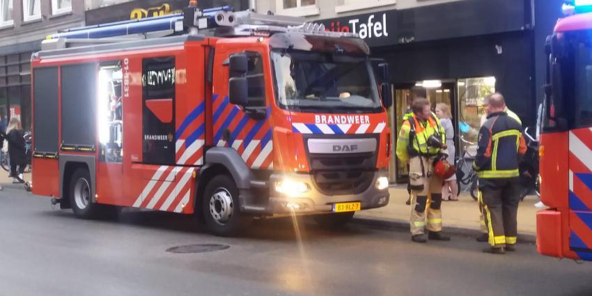 Brandweer uitgerukt voor keukenbrand