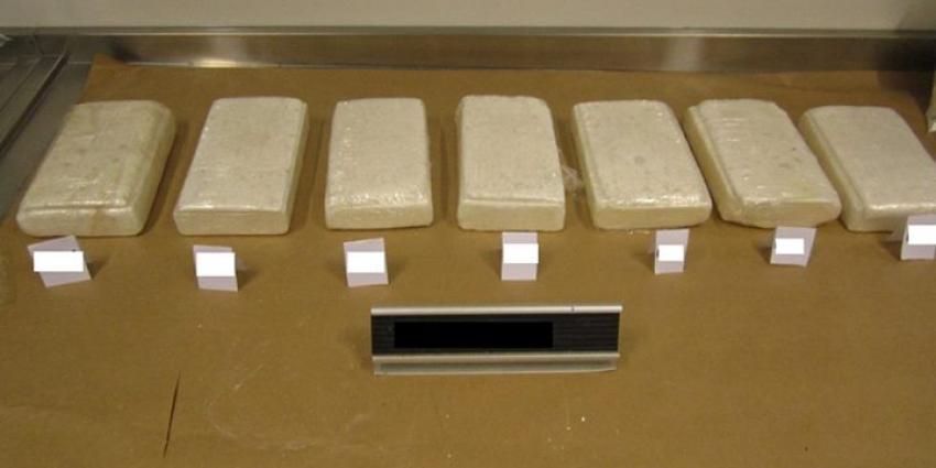 Foto van in beslag genomen drugs | Marechaussee