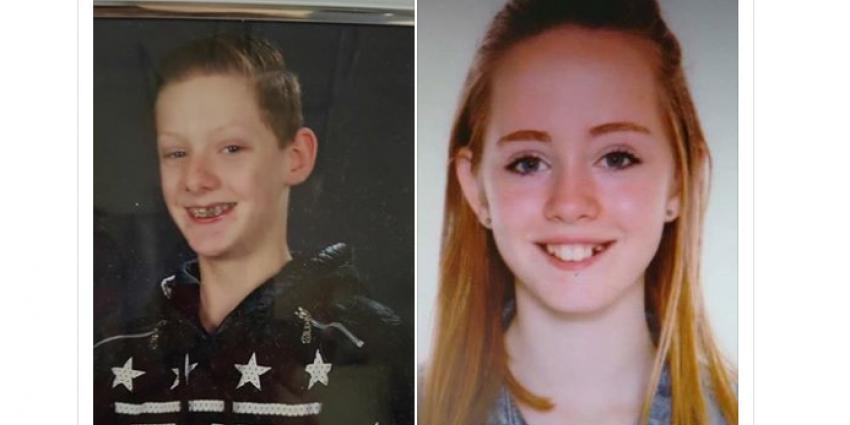 Twee tieners vermist