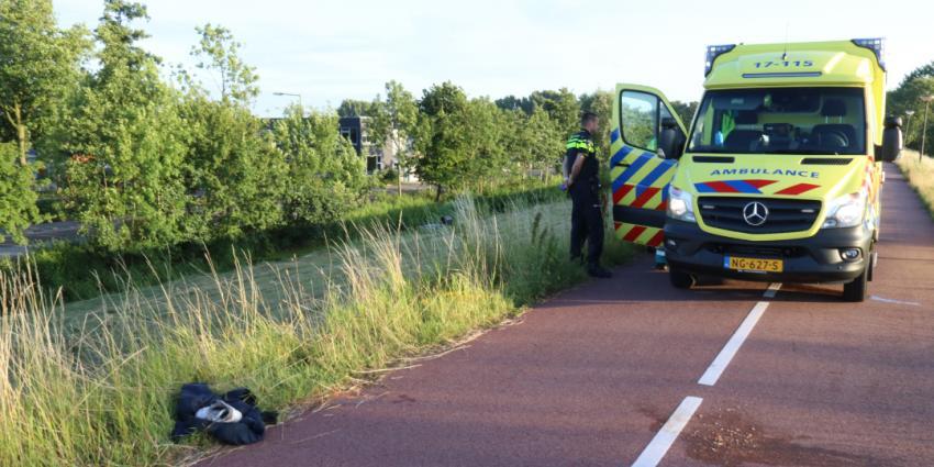 Gewonde man gevonden onder aan de Maassluissedijk