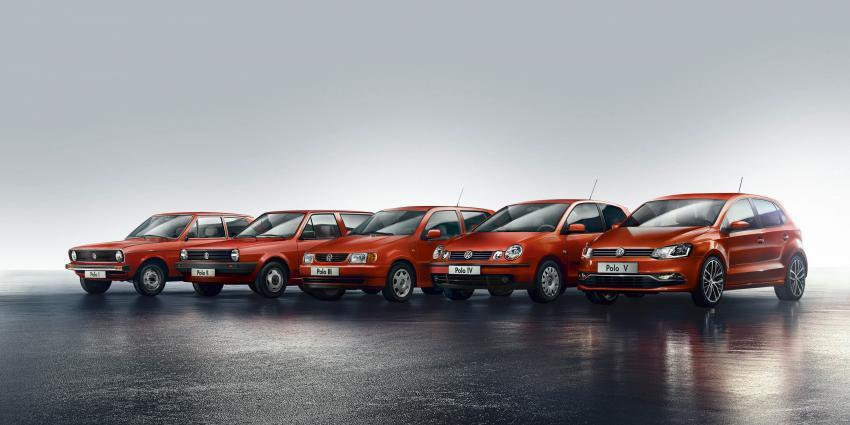 De Volkswagen Polo viert zijn veertigste verjaardag