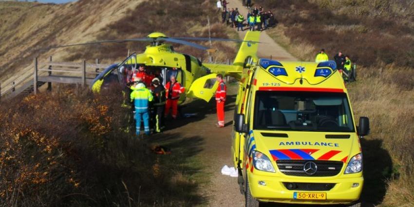 Foto van crash deltavlieger | Ricardo Kievit | www.112stadsgewest.nl