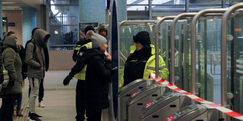 Station Schiedam ontruimd na bommelding