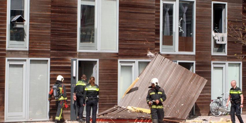 Explosie legt hennepplantage bloot in Groningen