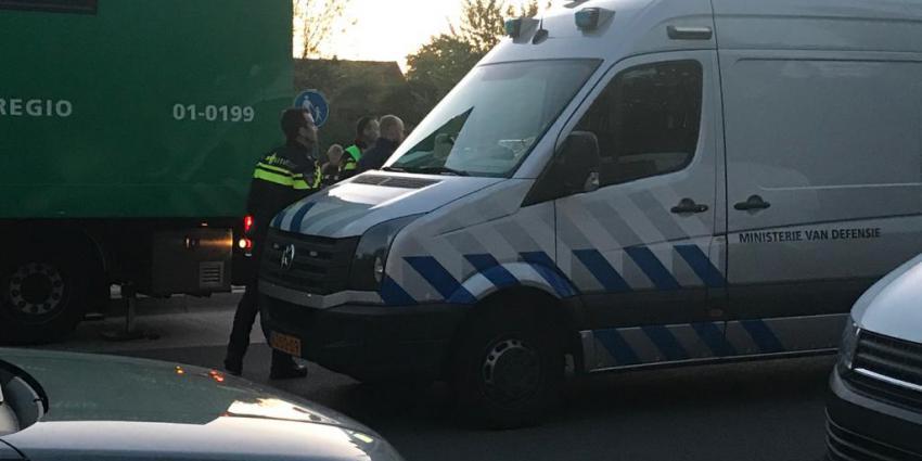 Ontruiming van flat in Groningen