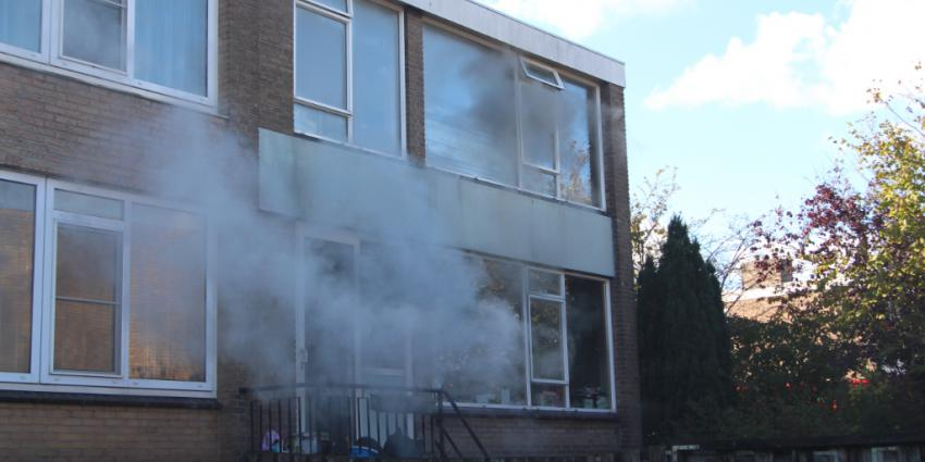 Huisdieren omgekomen bij woningbrand in Schiedam