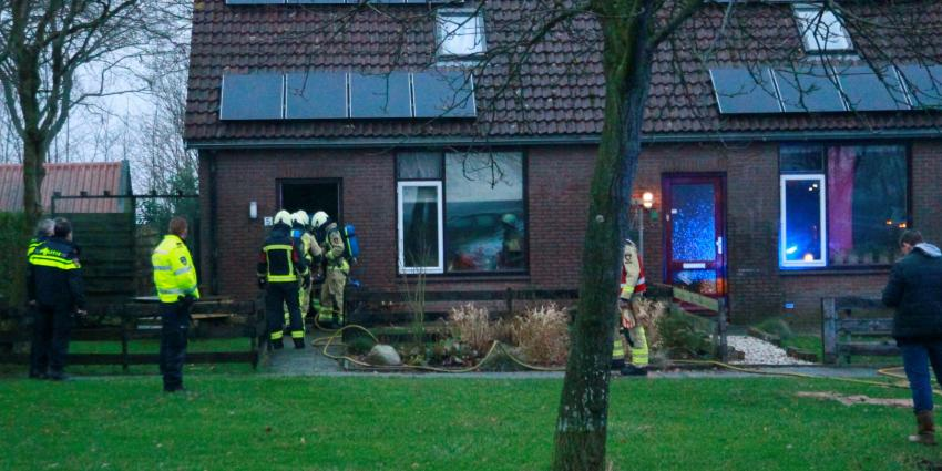 Rookmelder houdt schade aan woning beperkt na brand