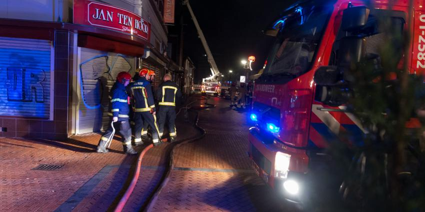 Zeer grote brand in Winschoten