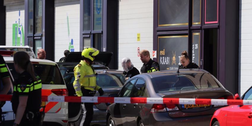 Geschoten bij mogelijke overval in Amsterdam