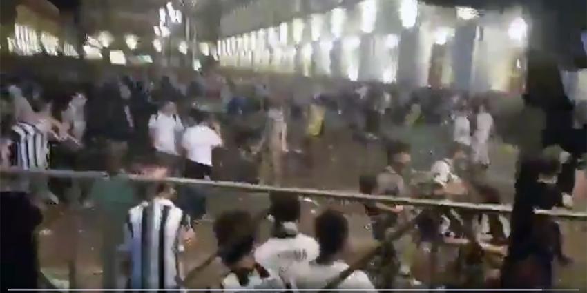 Paniek na 'explosie' op plein in Turijn tijdens finale Champions League