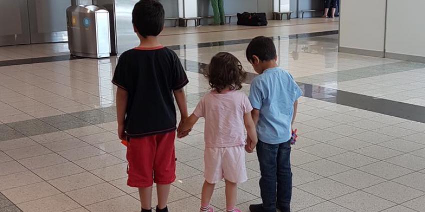 Drie vermiste kinderen uit Enschede terecht