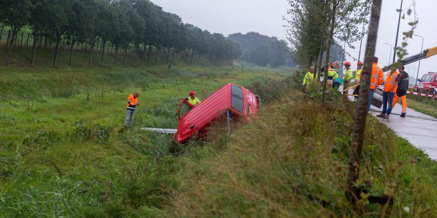 Ongeval Winschoterweg in Groningen