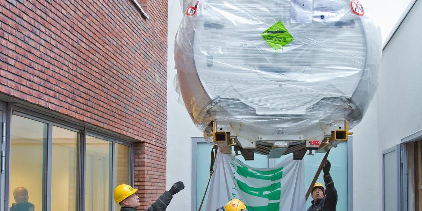 Nieuwe MRI Flevoziekenhuis spectaculair afgeleverd