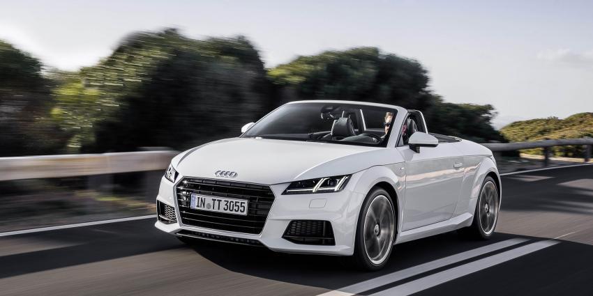 Nieuwe 1.8 TFSI 'instapversie' voor Audi TT