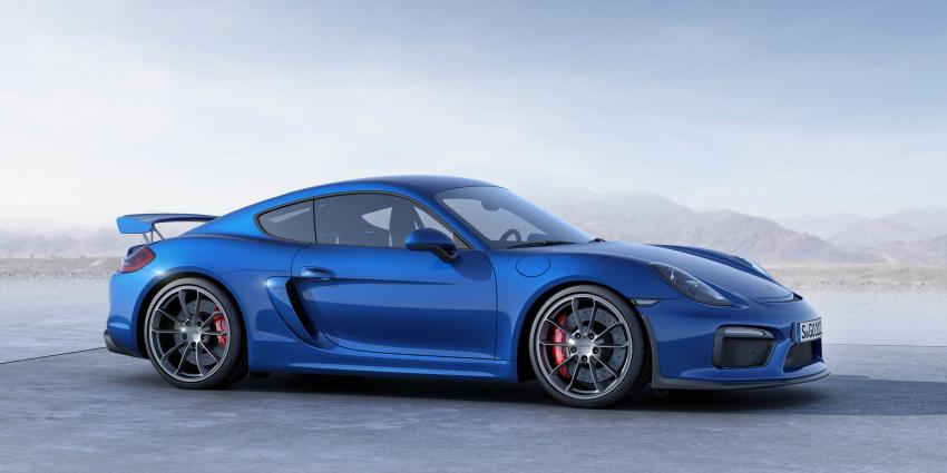 De nieuwe Porsche Cayman GT4