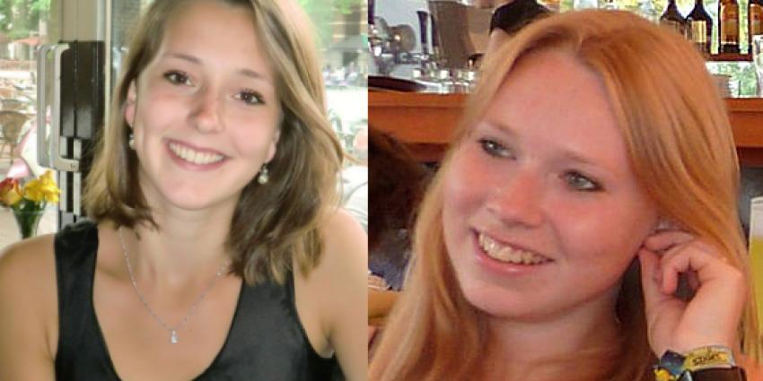 Blonde haren vermiste Kris en Lisanne is gerucht