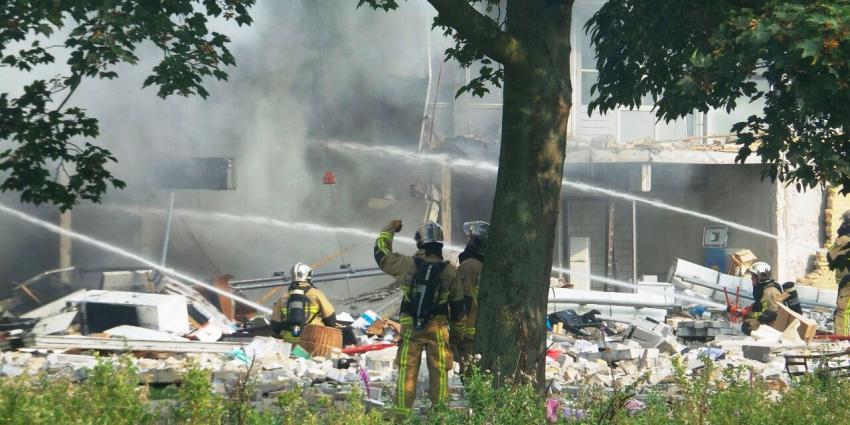 Ravage na explosie in Diemen