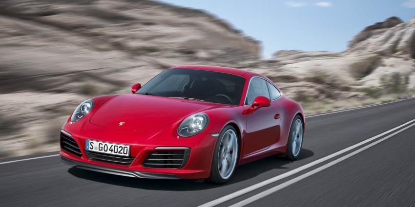 Nieuwe Porsche 911 Carrera