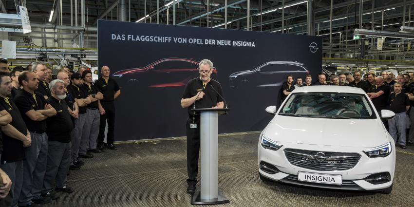 Productiestart van Opels vlaggenschip: de nieuwe Insignia