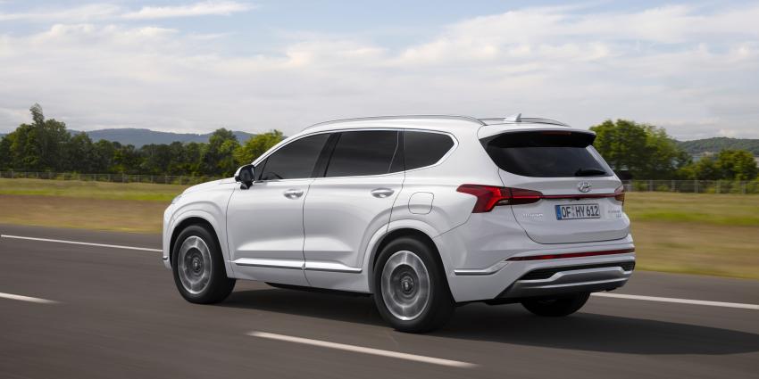 Nieuwe Hyundai Santa Fe