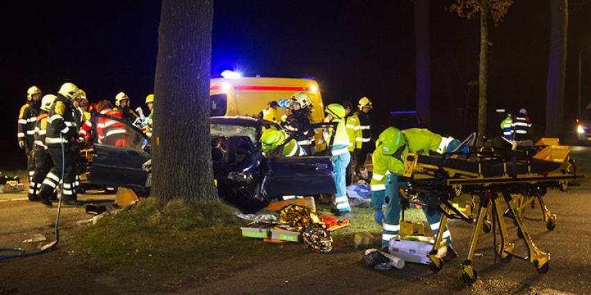 Vier gewonden bij aanrijding in Oirschot