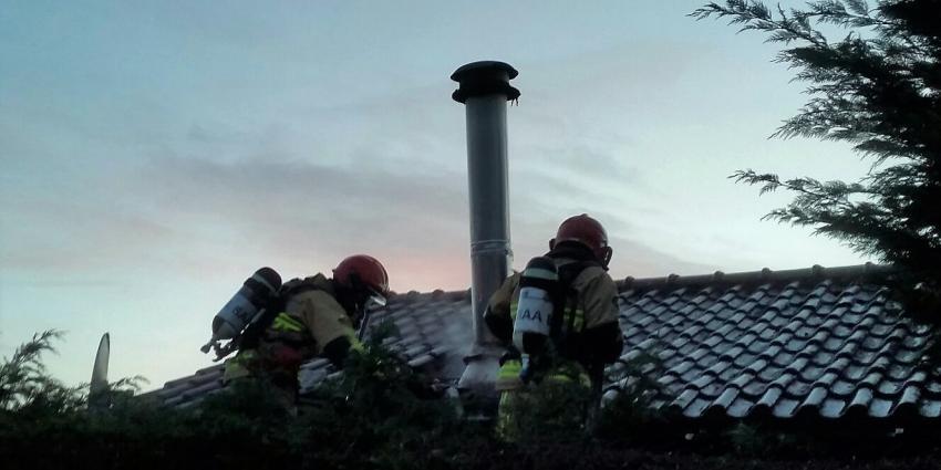 Schoorsteenbrand in De Kwakel