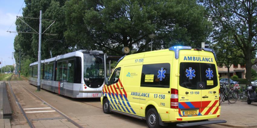 Tramverkeer gestremd na onwelwording