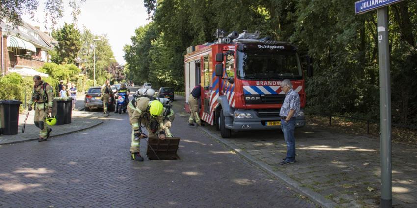 Onderzoek naar gaslucht in Schiedam