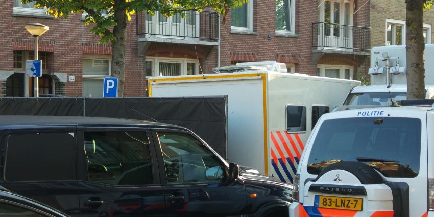 Politie doet onderzoek in woning Rijpstraat