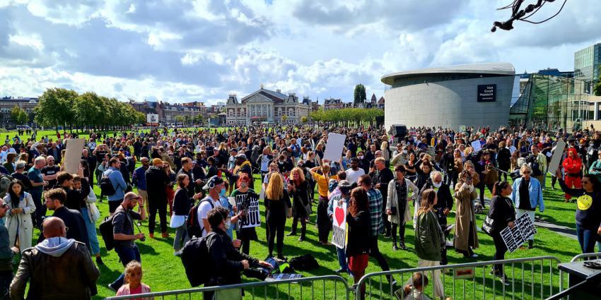 Manifestatie Museumplein